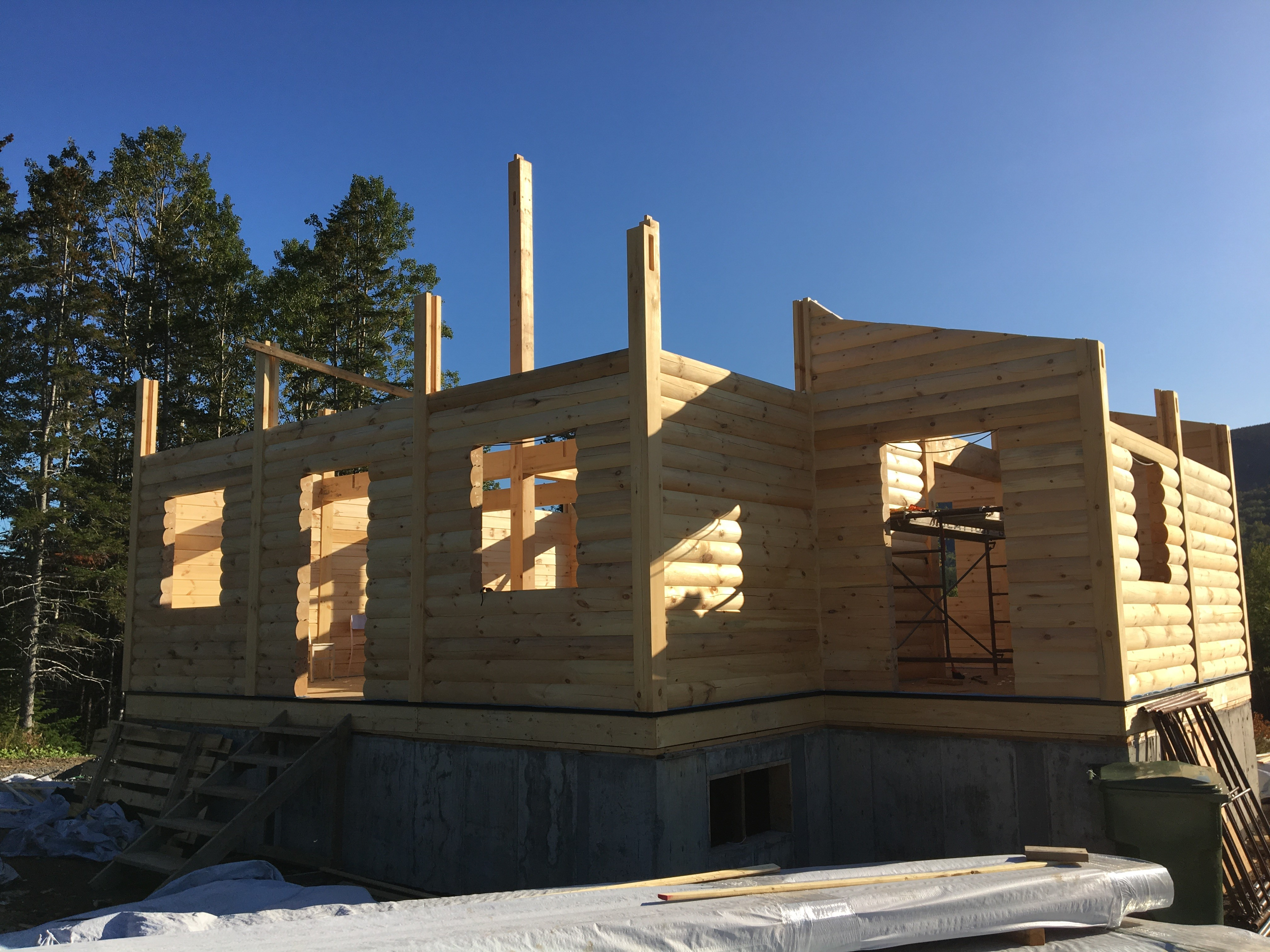 Chalet en construction – 5