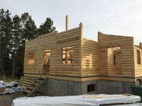 Chalet en construction – 4