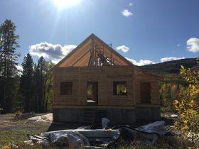Chalet en construction – 3
